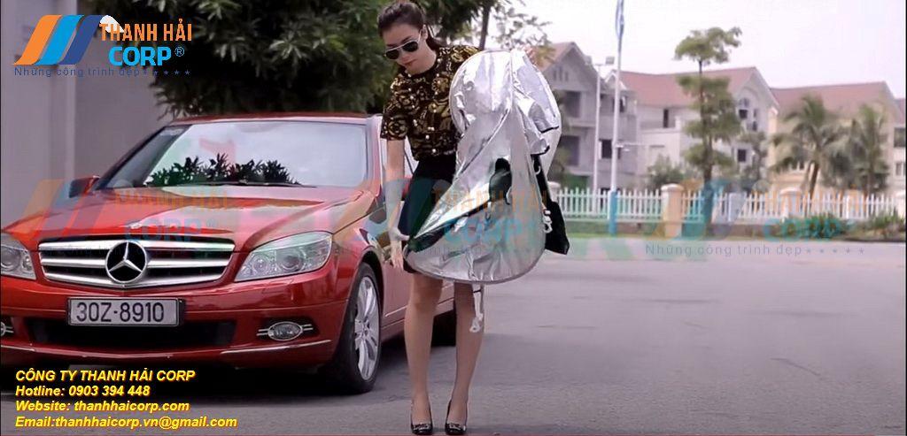 bạt dù che ô tô giá rẻ