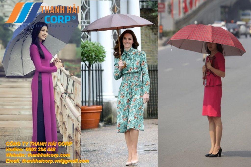 ô dù cầm tay thời trang