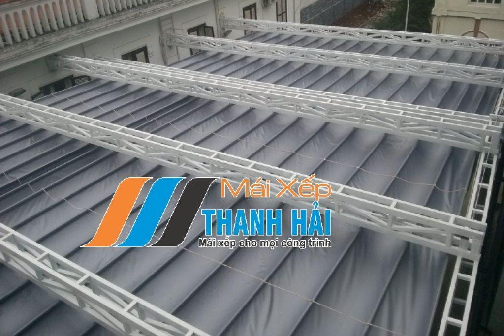 mái xếp có cấu tạo khung sườn cao cấp