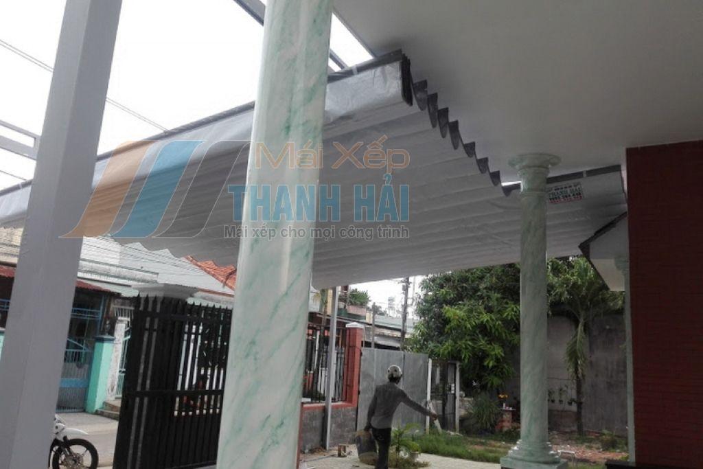 Mái xếp đẹp cho khuôn viên nhà ở khu biệt thự
