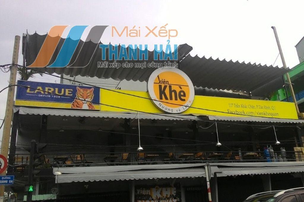 những sản phẩm mái xếp mới tại Thanh Hải