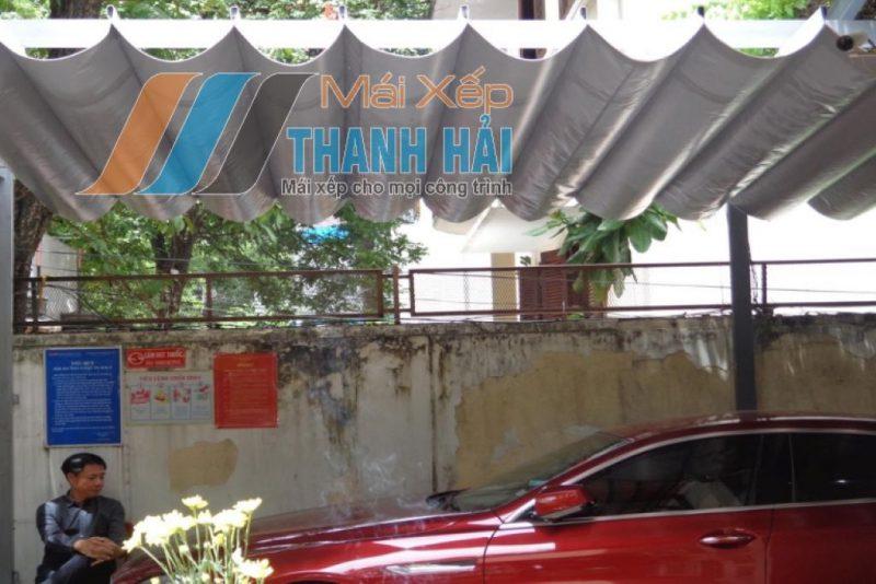 mái xếp quán cafe long an