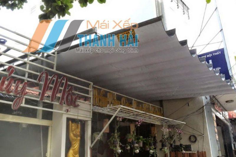 mái xếp quán cafe tại long an
