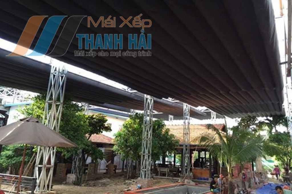 Những mẫu mái xếp đẹp tại công ty Thanh Hải