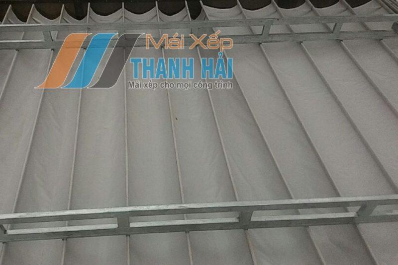 thi công mái xếp nhà hàng long an