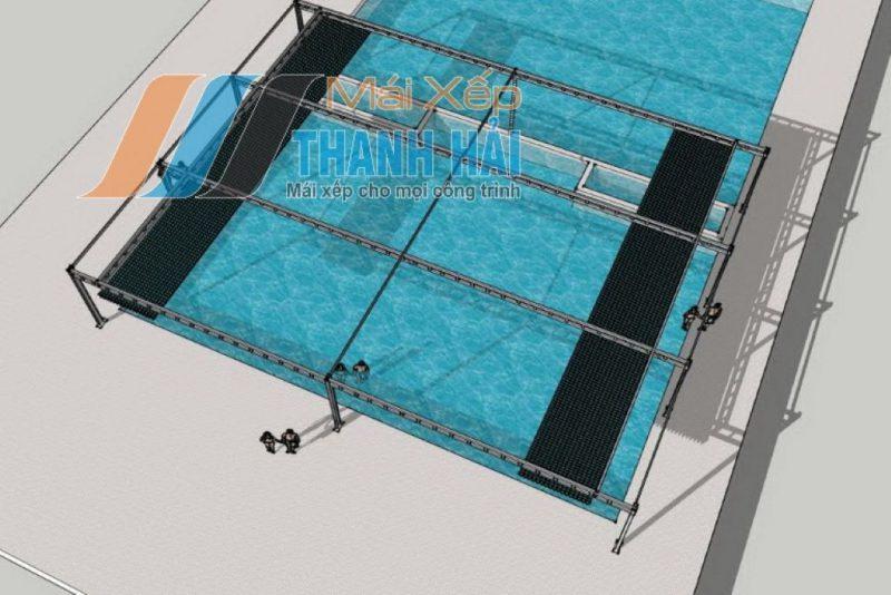 bạt xếp hồ bơi ở long an