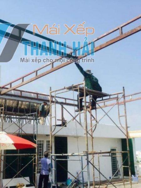 mái xếp nhà xưởng long an