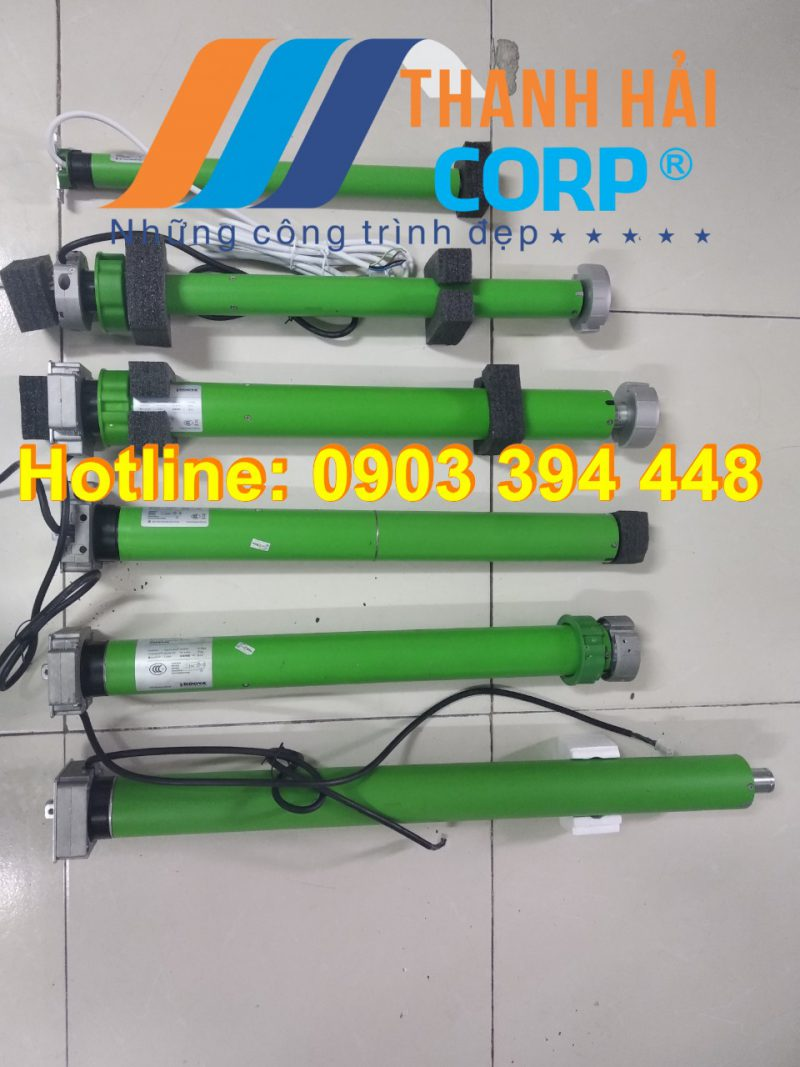 motor ống